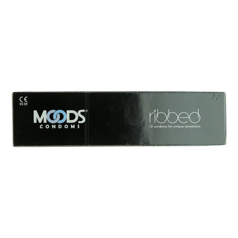 Moods-Ribbed-12-Condoms