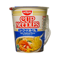 Nissin Cup Noodles Spicy Seafood Flavor 75g