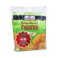 Alkbeer plain paratha bread 400 g
