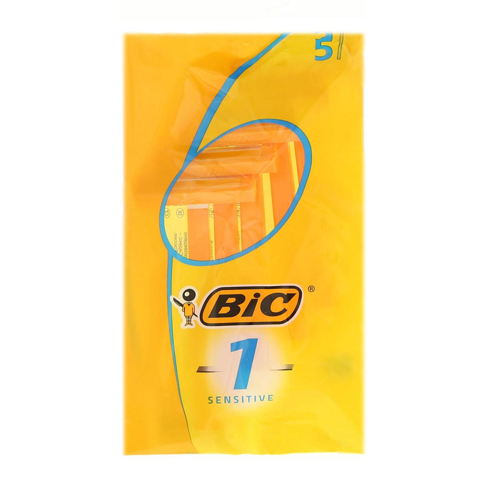 BIC 1 SENS POUCH 6PC VALUE PACK