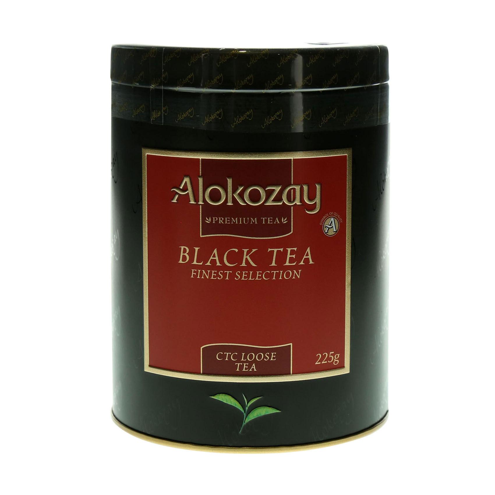 ALOKOZAY TIN TEA CTC 225G