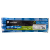 Carefour Sufra Disposable Table Cover 20 Sheets x 6 Rolls