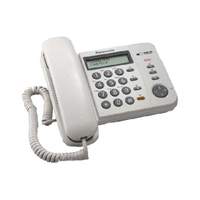Panasonic Corded Land Phone KXTS580MXB