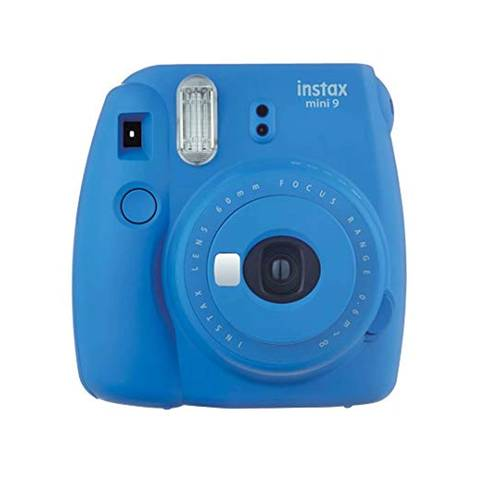 FUJIFILM-Instax-Mini-9 Instant-Film-Camera-Cobalt-Blue