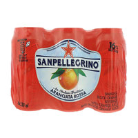 San Pellegrino Sparkling Blood Orange Beverage 330mlx6