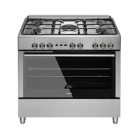 Simfer Gas Cooker F9111SGWM 90X60 Cm Max Safety Stainless Steel