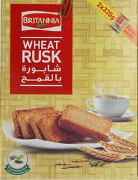 Britannia Wheat Rusk 670g