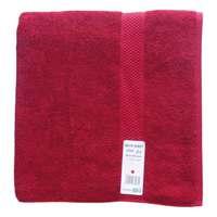 Tendance's Bath Sheet 80x160cm Dark Red
