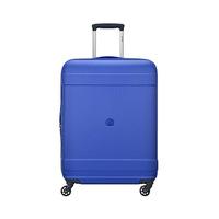 Delsey Trolley 4 Wheels- Hard Average TSA Prying-66CM Blue Color