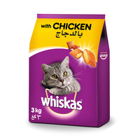 Whiskas Chicken Dry Food Adult 1+ years 3kg