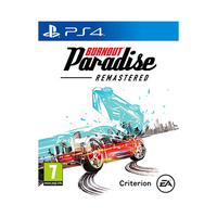 PS4 Burnout Paradise Remasred Game