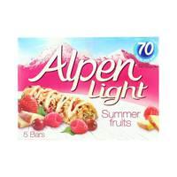 Alpen Light Summer Fruits (5x95 g)