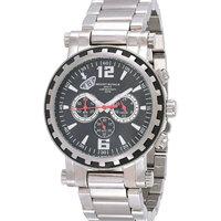 Mount Royale Men's Watch Black Dial Stainless Steel Sport -7R16