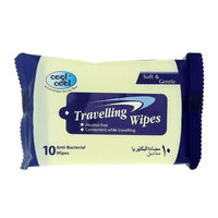 Cool & Cool Travelling 10 Wipes