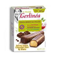 Gerlinea Barre Chocolat Noir Et Blanc 372GR