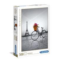 Clementoni - Romantic Promenade in Paris Adult Puzzle 500pcs
