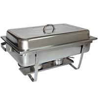 Master Chef Chaffing Dish 9L Stainless Steel
