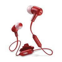 JBL Bluetooth Headphone E25BT Red