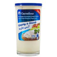 Carrefour Spreadable Processed Cream Cheese 240g