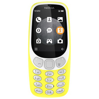 Nokia Mobile 3310 Dual Sim 3G Yellow