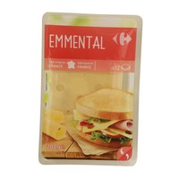 Carrefour French Emmental Cheese Slices 200 g