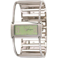 Mount Royale Women's Watch Green Dial Stainless Steel Band Dress-8G10