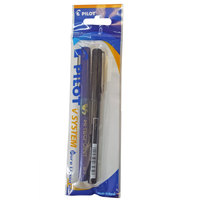 Pilot Hi-Tec V5 Ball Pen 0.7 1 Blue + 1 Black