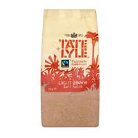 Tate & Lyle Light Soft Brown Cane Sugar 1 kg