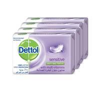 ديتول صابون للبشرة الحساسة 120 جرام - 2+2 مجانا