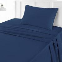 Tendance's Flat Sheet Single Dark Blue 160X240