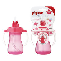 Pigeon Petite Straw Bottle (Pink) Hanging Type 150ml