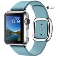 Apple Watch Series 1 38mm Aluminium Case Blue Band Medium