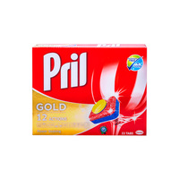 Pril Gold 12 Action Dishwahing 22 Tabls