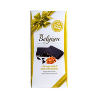 Belgian Chocolate No Sugar Added Almond 100GR