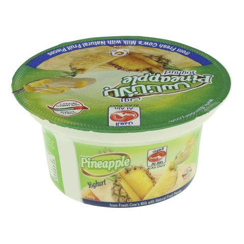 Al-Ain-Pineapple-Yoghurt-125g
