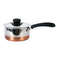 Raj Copper Btm Saucepan 17Cm