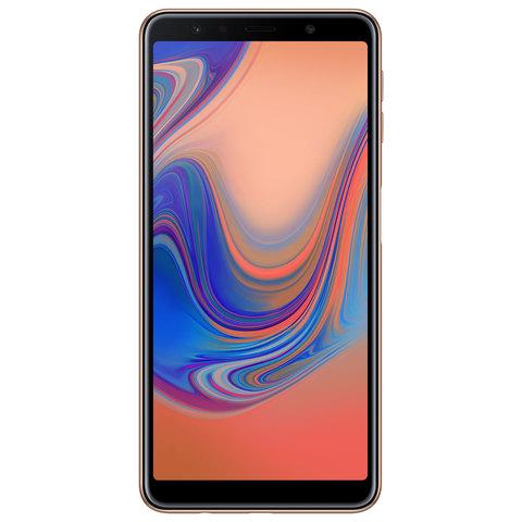 a593a42a0 Buy Samsung Galaxy A7(2018) 128GB Dual Sim 4G Gold Online - Shop ...