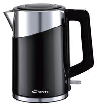 CONTI Kettle CK-5004-G 2150 Watt 1.7 Liter Black