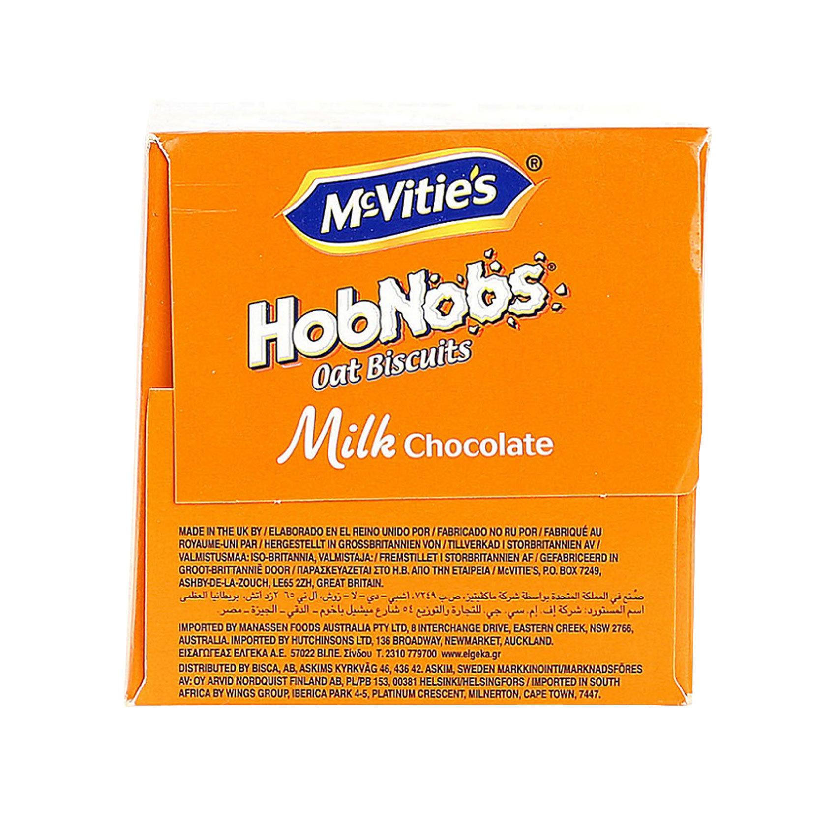 MC VITIES HOBNOBS MILK CHOC 300G