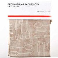 TEX Table Cloth 140x220 Beige