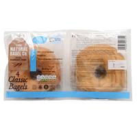 The Natural Bagels Classic Plain 340g