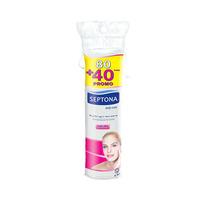 Lady Care Disks Septona Makeup Remover 80 Disks + 40 Disks Free