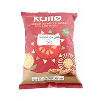 كالو الذرة المجففة الخالية من الجلاتين بالطماطم و الأ'عشاب و الأرز 25 غرام