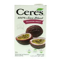 Ceres Passion Fruit Juice Blend 1L