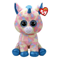 TY Beanie Boos Plush Blitz - Blue Unicorn Medium