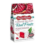 Hazerbaba Pomegranate Turkish Delight 100g