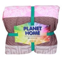 Planet Home Microfiber Comforter 150X220 Dark Pink