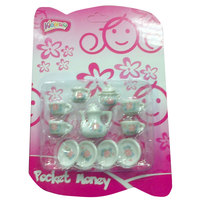 Kidzpro Porcelain Tea Set 13Pcs - Assorted