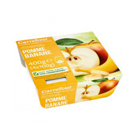 Carrefour Dessert Mashed Banana & Apple 100GR X 4