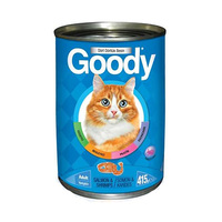 Goody Adults Cat Canned Food Salmon & Shrimps 415GR